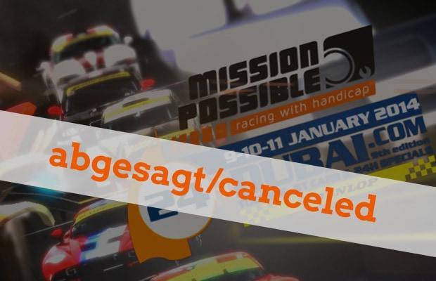 canceled - Mission Possible muss erneut einen Rückschlag hinnehmen