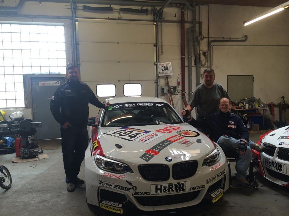 SorgBMW01 - 17.04.2014 - Erster Test mit BMW M 235i Cup