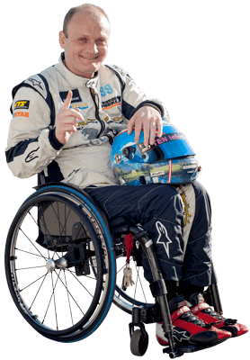 mission possible racing gustav engljaehringer - MISSION POSSIBLE - racing with handicap